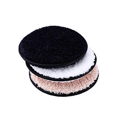 Heall Makeup Remover Pads 3pcs Gesichts-Make Up Entfernen Wipes Waschbar Runden Towelettes Makeup Remover Puff Makeup Supply