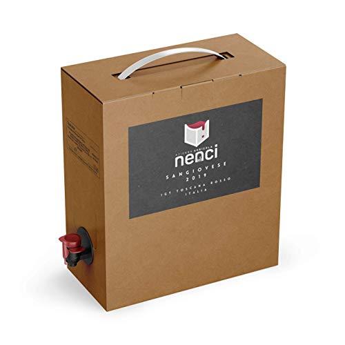 Bag in Box vino Sangiovese Rosso IGT Toscana 13% - Azienda Agricola Nenci - confezione 5 L