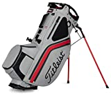 Titleist - Hybrid 14 Golf Bag - Gray/Red/Charcoal