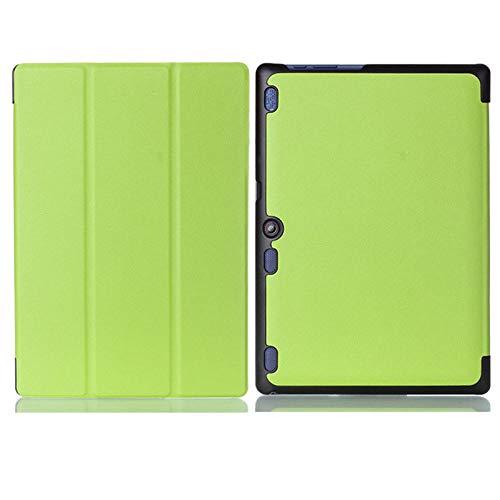 Funda para Lenovo Tab 2 A10 70 Funda de Cuero PU para Tableta para Tab2 A10-30 X30F A10-70F A10-70L Funda para Tableta Capa para-Verde