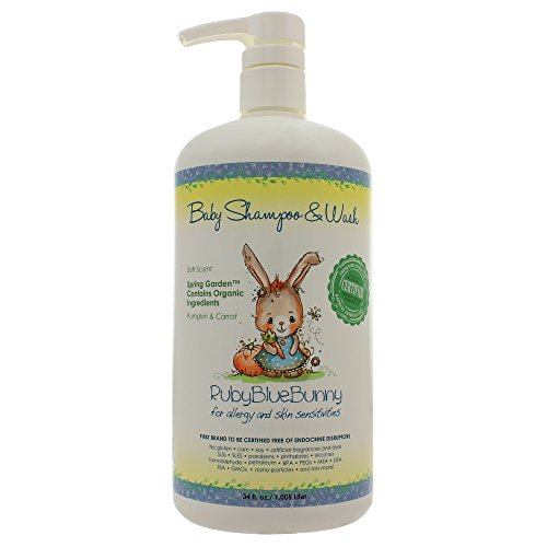 Spring Garden Shampoo & Wash 34 Ounces (Pack of 2)