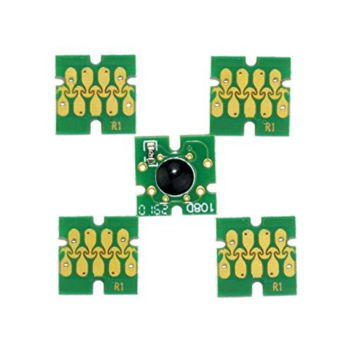 wuxinye Cartucho de Tinta de Recarga T202XL 202XL con Ajuste de Chip de reinicio automático para Epson Expression XP-6000 XP-6005 XP-6100 XP-6105 XP-6001 (Color : Chip)