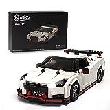 Nifeliz Mini Sports Car GTRS MOC Building Blocks and Construction Toy, Adult Collectible Model Cars Set to Build, 1:14 Scale Race Car Model (1024 Pcs)