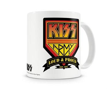 Offizielles Lizenzprodukt KISS Army Kaffeetasse, Kaffeebecher