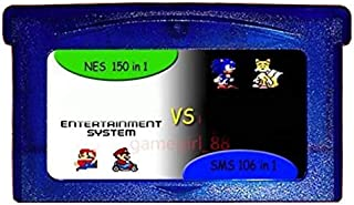 PrinceShop - Game Memory Card For GBA GAME 150 In 1 NES + 106 In 1 SMS For Gameboy Advance Multicart Collection