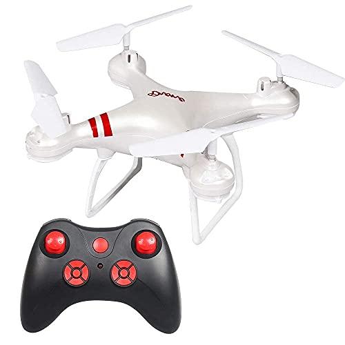 DCLINA Drone HD Fotografia Aerea Resistente alle Cadute Aereo a 4 Assi WiFi Trasmissione Immagini Telecomando Drone Aereo Giocattolo per Bambini Adulti Ragazzi Ragazze Compleanno