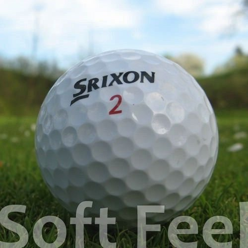 Bolas Golf Srixon Soft Feel Marca Easy Lakeballs