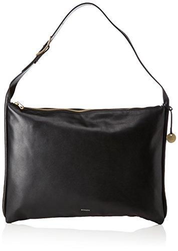 Skagen Anesa, Women's Shoulder Bag, Schwarz (Black), 1.5x29.5x42 cm (B x H T)