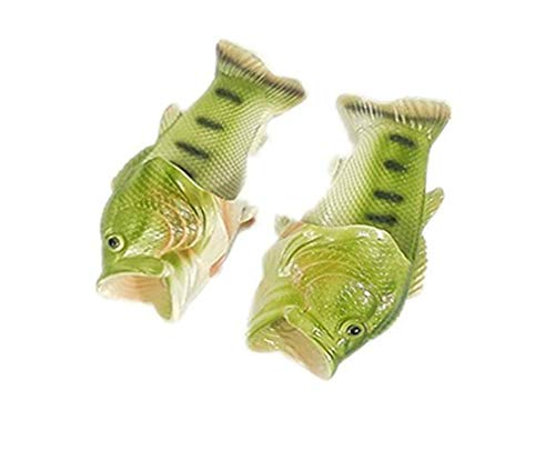 Hengsong Pantofole Donna Uomo Bambini Gomma Ciabatte Spiaggia Estive Piscina Scarpe Mare Antiscivolo Doccia Estivi Sandali Infradito Verde (40 EU/41 EU)