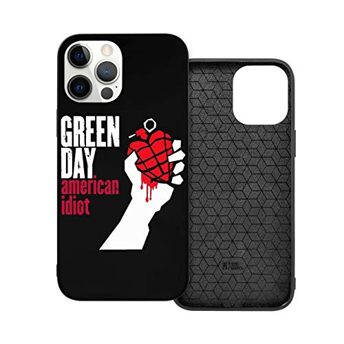 Case For I_Phone 12 Green Day American Idiot Phone Case Compatible With I_Phone 12 / I_Phone 12 Pro Shock Proof Anti Scratch Hard Cover Case