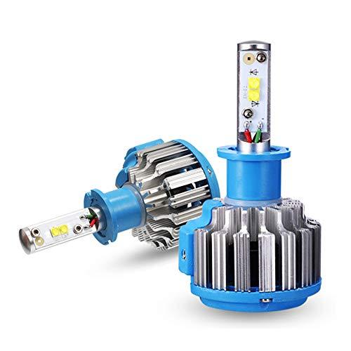 Ampoules De Phares À LED 3300LM 35W 6000K IP67 Super Brillantes Et Étanches, Kit De Remplacement Pour Ampoules Halogènes Et DHI,H3
