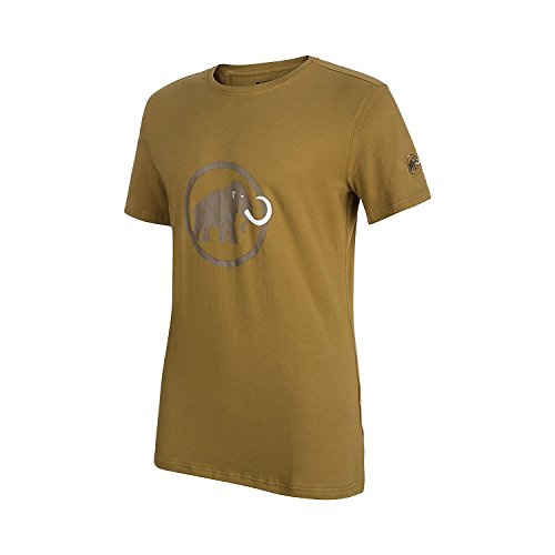 Mammut Herren T-Shirt Logo, Sand-Dark Sand, XXS