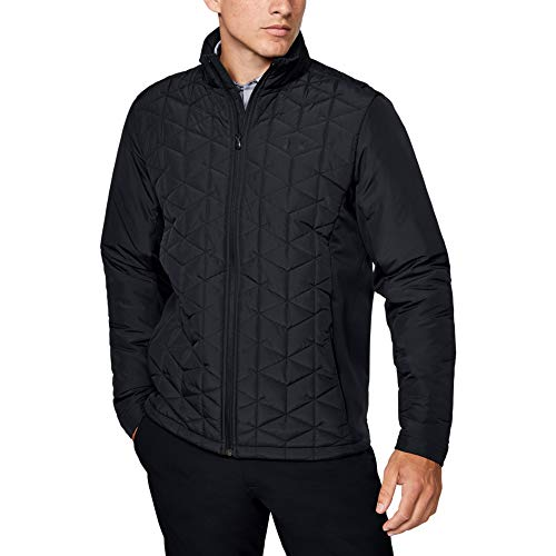 For Sale! Under Armour Coldgear Reactor Elements Hybrid Jacket, Black (001)/Black, XX-Large