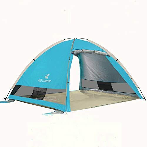 SDSA Tente Automatique Ultra-Légère Escamotable 2-3 Personnes, Parc, Plage, Loisirs De Plein Air Et Activités Intérieures, 220 * 190 * 130cm