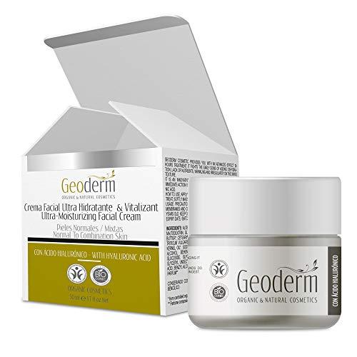 Crema hidratante facial Mujer | Concentrado Facial con Ácid