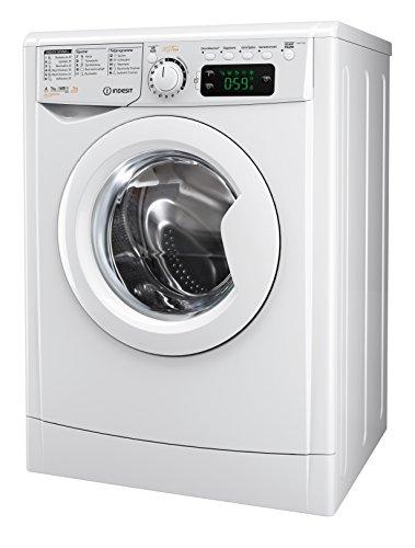 Indesit EWDE 71680 W DE Waschtrockner / 952 kWh / MyTime Täglich-Schnell-Programme unter 1 Std / Aquastopp/ 1600 Umin
