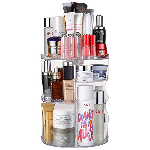 Rotating Space Saver Makeup Organizer