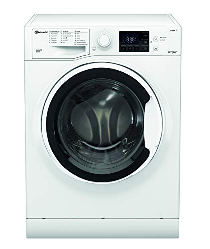 Bauknecht WT 86G4 DE N Waschtrockner / 8/6kg Waschen/Trocknen/Flecken 40° / Dampf-Programm/ProSilent Motor/Wolle-Programm/Nachlegefunktion/Kurzprogramm 45 Min