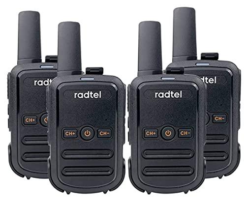 Radtel RT12 Rechargeable Walkie Talkies for Adults Long Range Handheld...