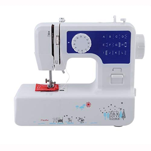Electric Household Sewing Machine, Upgrade, Adjustable 2 Speeds 12 Stitches, Heavy Duty Sewing Machine, Tailors Free-Arm Crafting Mending Machine for Kids Beginners Best Gift for Family