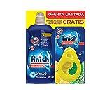 Finish Lavavajillas Abrillantador Regular, más Ambientador para lavavajillas Limón