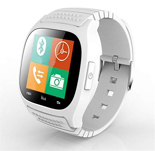 ELEGENCE-Z Smart Watch, nieuwe Bluetooth mobiele telefoon met wijzerplaat / alarm / muziekspeler / stappenteller voor iPhone iOS (zwart)