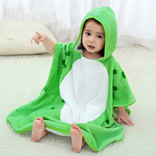 GLokpp Animal Hooded Baby Handdoek Katoen Badjas Voor Jongens Meisjes 1-7 Jaar, Premium Hooded Handdoek Poncho Voor Kinderen Peuters, Ideaal In bad, Strand, Zwembad