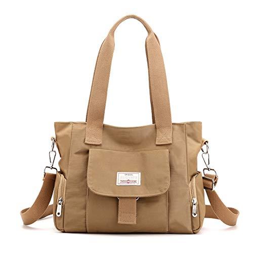 CMZ Rucksack Mehrschichtige leichte Umhängetasche für die Schulter Einfache Modetasche Damen Oxford-Stoff Damenhandtasche mit großer Kapazität