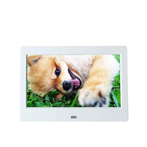 Fotorahmen Digital 7/8/10 Zoll, 1280 x 800 HD elektronisch, USB SD-Steckplatz...