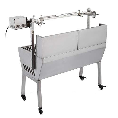 41cSpPzhrQL - DHYBDZ Grill, Grill, Elektrospießröster Grillgrill Raucher 132 Pfund Lager Grill Schweinespießröster Lammgrill mit Elektromotorgrill