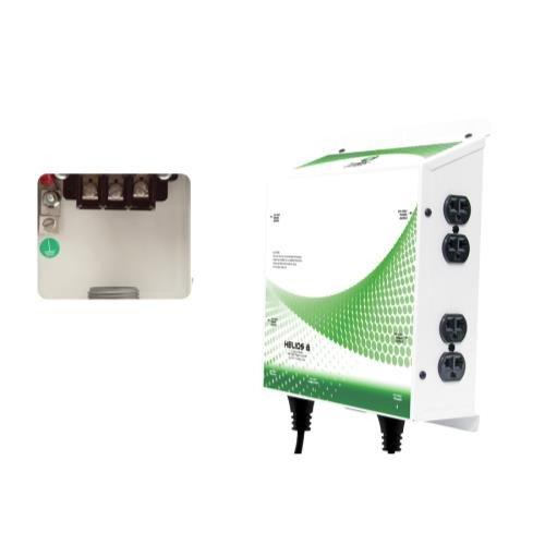 Titan Controls Helios 8 - 8 Light 240 Volt Controller w/ Dual Trigger Cords