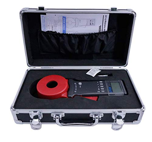 Digital Clamp on Ground Resistance Meter Tester Digital Megohmmeter Insulation Resistance Tester with Data Storage