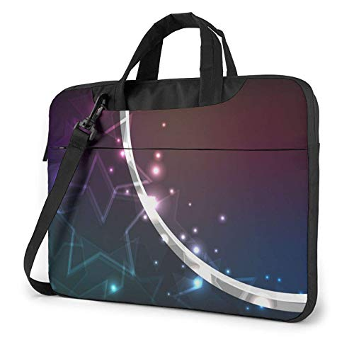 XCNGG Laptop Bag, Bright Ball Shape Business BriefcaseBag Cover for Ultrabook, MacBook, Asus, Samsung, Sony, Notebook 13 inch
