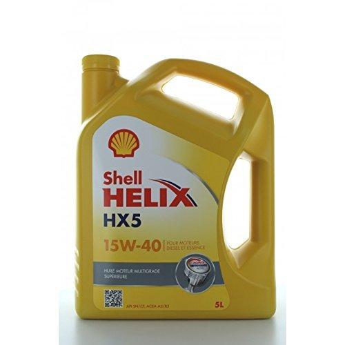 Shell Helix HX5 15W40 - 5 Liter Flasche
