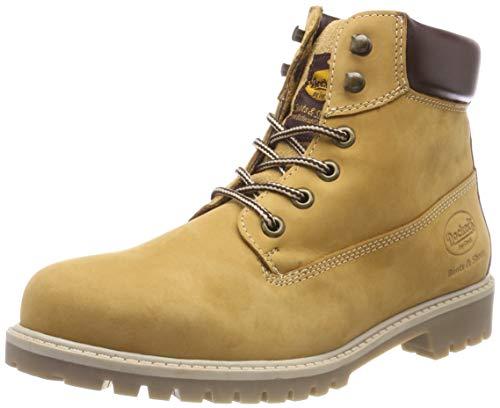 Dockers by Gerli Herren 43ST001 Combat Boots, Gelb (Golden Tan 910), 45 EU