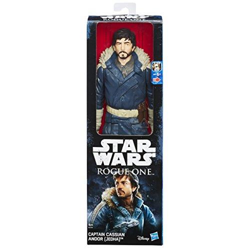 Hasbro Star Wars B7378EL2 - E7 Ultimate Figuren - Captain Cassian Andor Eadu, Actionfigur, 12 Zoll