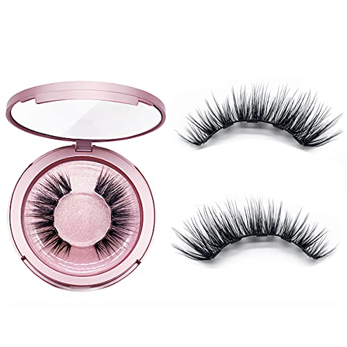 Magnetic Eyelashes Natural Looking,Magnetic Eyelashes With 5 Double Strength Magnets, (Magnetic Lashes, Style A8)