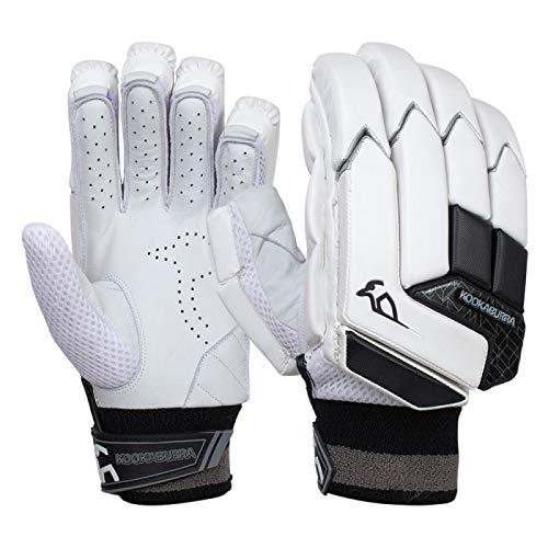 KOOKABURRA Batting Gloves 2020 Shadow 2.3 Schlaghandschuhe (kleine Erwachsene, Linke Hand), weiß, Small Adult Left