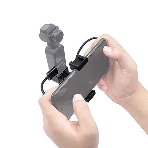 WFBD-CN Módulo electrónico For dji Gimbal OSMO Bolsillo de teléfono Clip Adaptador cardán de expansión Soporte Accesorios (Color : iOS Version)