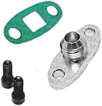 Boost Monkey Turbo Oil Drain Outlet Flange Adapter -AN10 Fitting