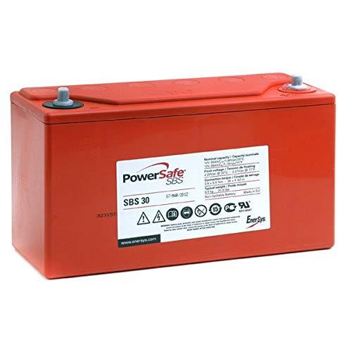 Enersys - Batería Plomo Puro Powersafe SBS30 12V 26Ah M6-V