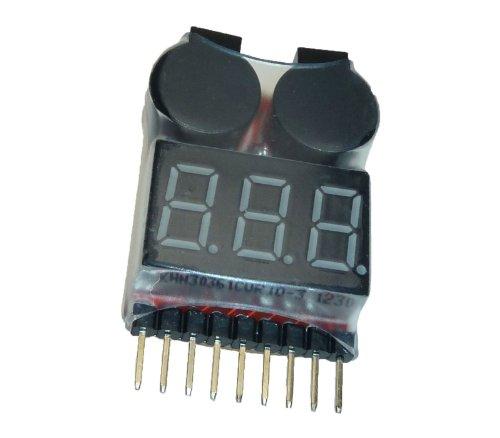 Adapter-Universe® Buzzer 1S - 8S Polímero de Litio Alarm Warner Protección Checker Voltaje Buzzer Pieper 1S 2S 3S