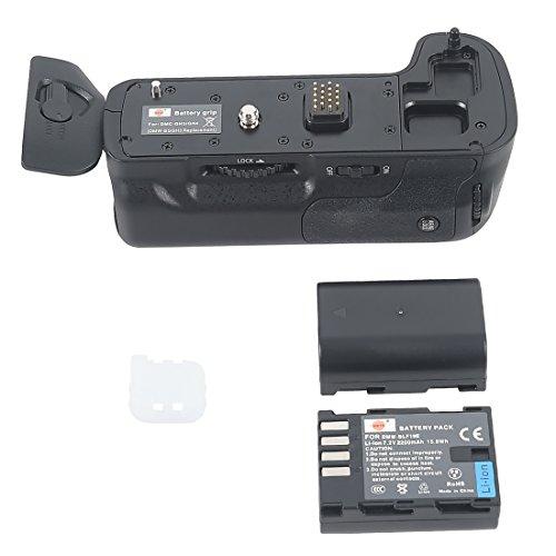 DSTE Multi-Poder Vertical Batería Apretón Titular para Panasonic Lumix GH3 DSLR Cámara...