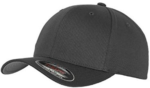 Flexfit Baseball Cap Schirmunterseite Silbergrau Farbe Dark Grey Größe L/XL (bis 62cm)