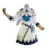 Xin Hai Yuan Game Genshin Barbara Cosplay Disfraz Anime Girl Lolita Vestidos Adultos Mujeres Halloween Fancy Suit,M
