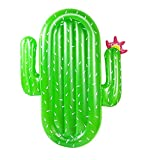 Inflatable Cactus Pool Float for Adult,Large Inflatable Swimming Pool Raft Pool Lounge Summer Water Toy Beach Toy for Pool Party Kids Adults