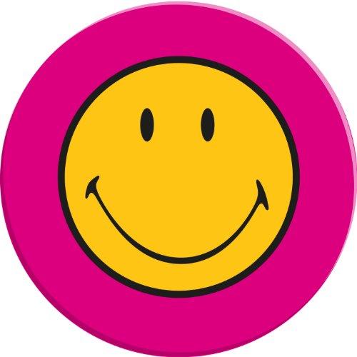 zak! Designs 6187-0312 Smiley Speiseteller 25 cm Fuchsia