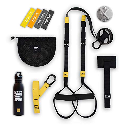 Buy Cheap TRX GO Bundle: Includes GO Suspension Trainer, Training Xmount, Training Set of 4 Mini Ban...