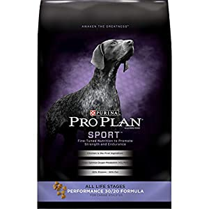 Purina Pro Plan High Calorie, High Protein Dry Dog Food, SPORT 30/20 Chicken & Rice Formula – 6 lb. Bag (Packaging May Vary)