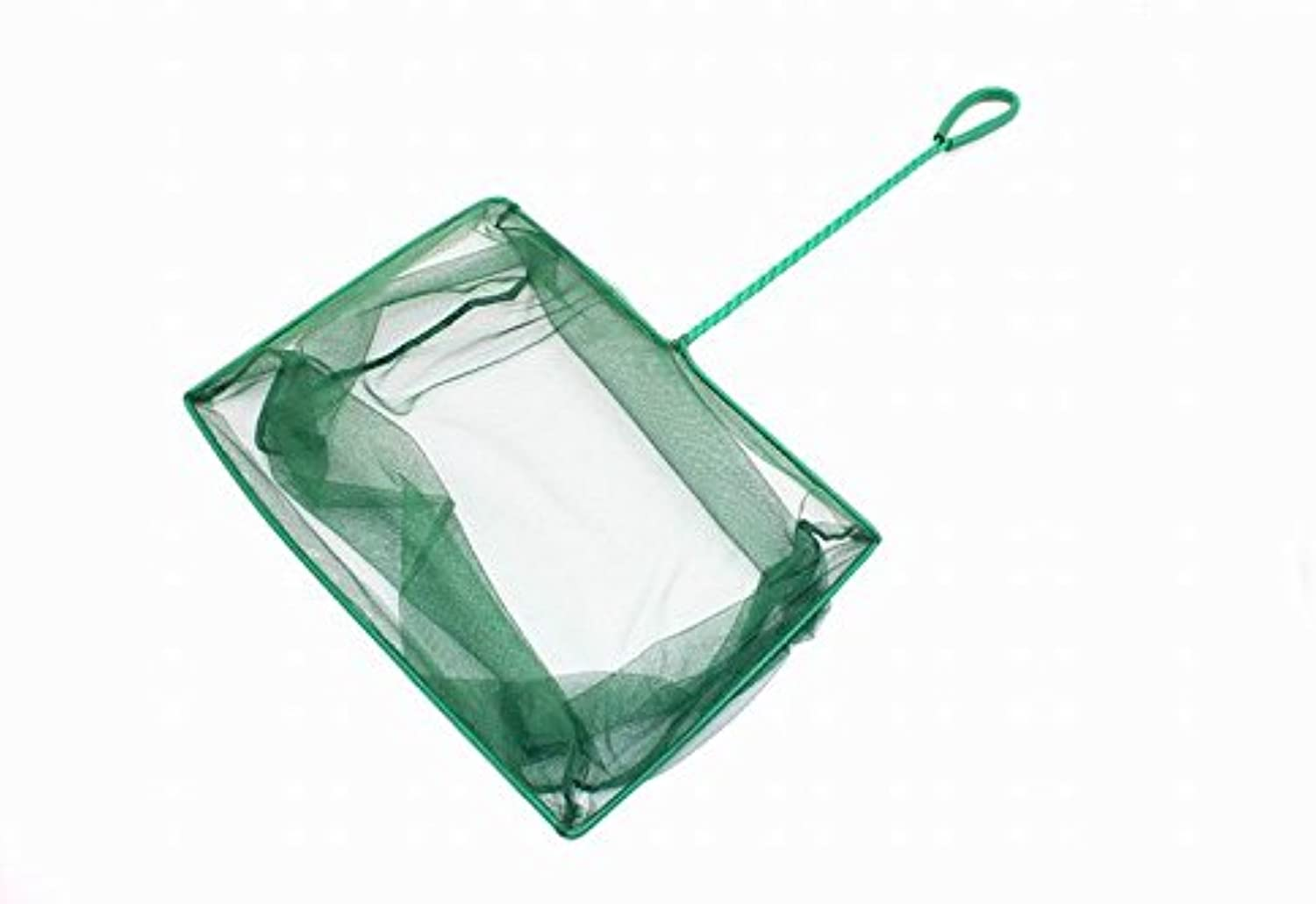 COkO New 10Inch Aquarium Fish Net Nylon Supplies Cleaner (Green)